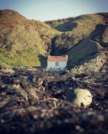 Fisherman's hut, Niarbyl, Isle of Man