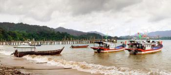Fishing boats Malaysia.