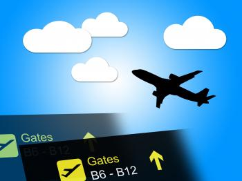 Flight Departure Shows Holiday International And Vacations