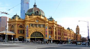 Flinders St Station Melbourne.
