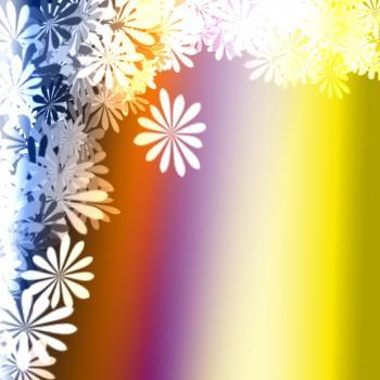 Floral Blur Background