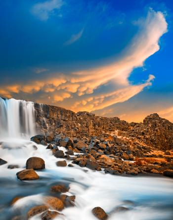 Flying Axe Falls