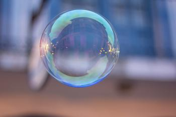 Focused Photo of Bubble