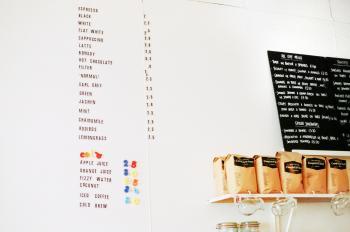 Food Menu Board