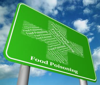 Food Poisoning Represents Ill Health And Ailments