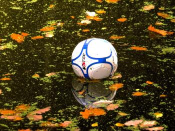 Football in the Pond