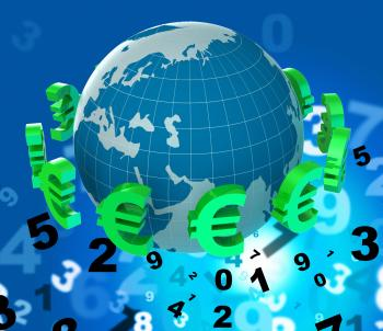 Forex Euros Means Currency Exchange And European