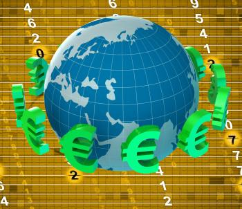 Forex Euros Means Foreign Exchange And Banking