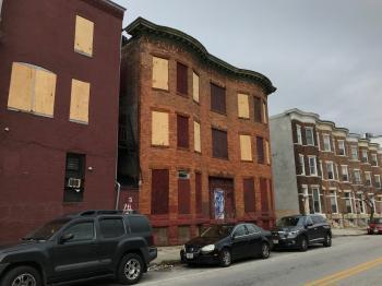 Former Sherman's Liquor Store, 226 E. Lafayette Avenue, Baltimore, MD 21202