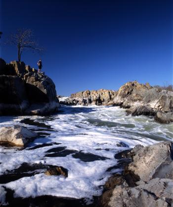 Fountain stream