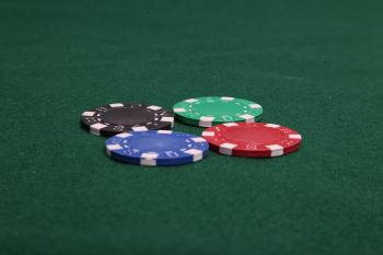 Four Poker Chips