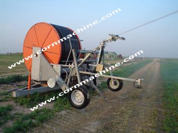 Fragment of seeding equipment