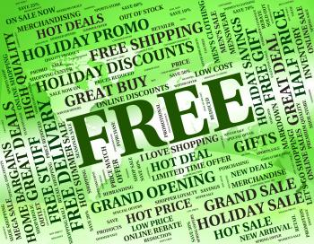 Free Word Shows Without Charge And Complimentary