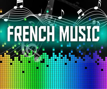 French Music Shows Sound Track And Acoustic
