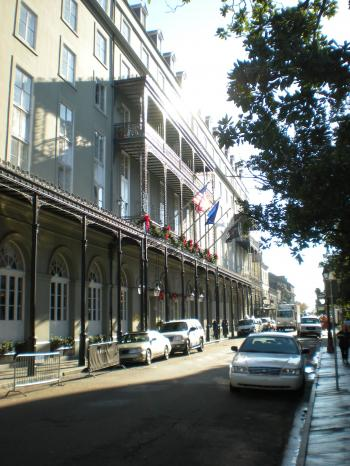 French Quarter Scene (Vertical)