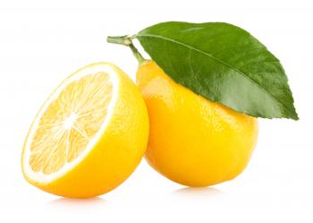 Fresh Sliced Lemon