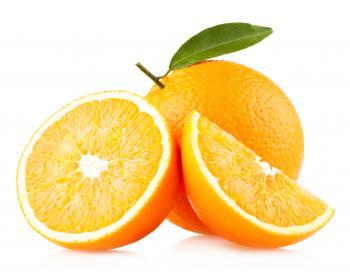 Fresh Sliced Oranges