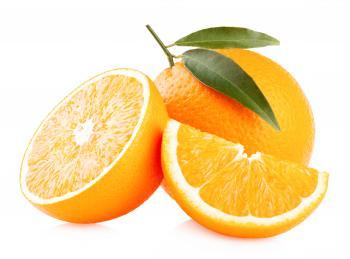 Sliced Ripe Oranges