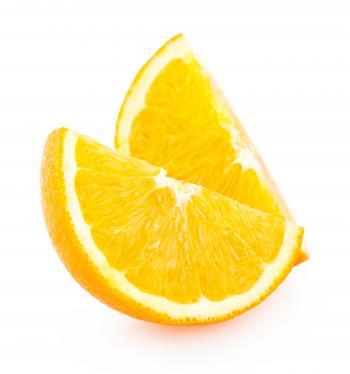 Fresh Slices of Orange