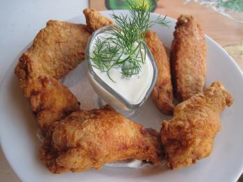 Fried wings
