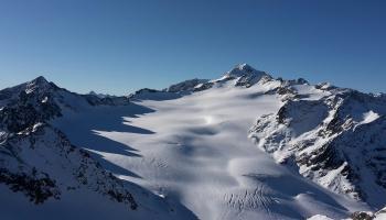 Frozen Alpine