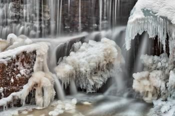 Frozen Phantom Falls - HDR