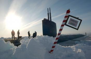 Frozen Submarine