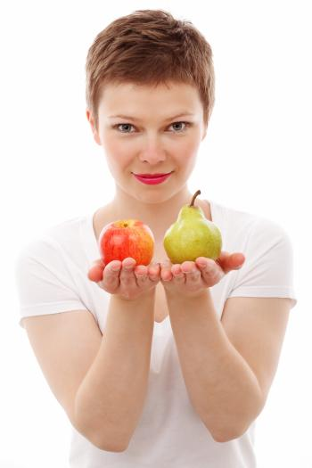 Fruits in the Hands