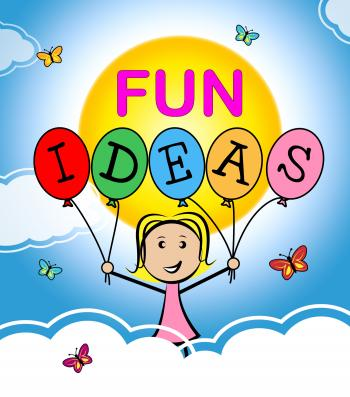 Fun Ideas Shows Think Planning And Happy