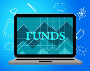 Funds Online Indicates Stock Market And Computing