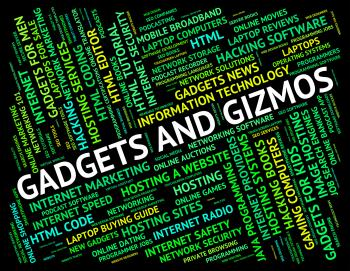 Gadgets And Gizmos Represents Mod Con And Tools