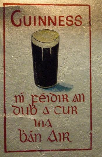 Gaelic Advert