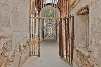 Gated Prison Corridor - HDR