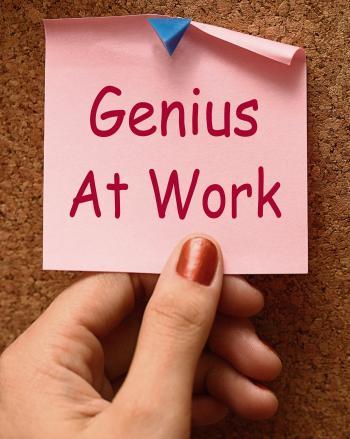 Genius At Work Means Do Not Disturb