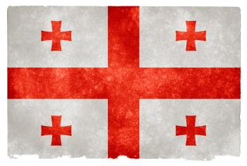 Georgia Grunge Flag