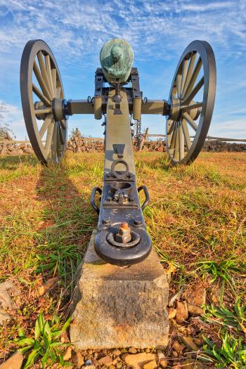 Gettysburg Cannon - HDR