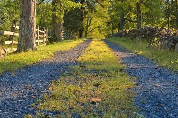 Gettysburg Gravel Road - HDR