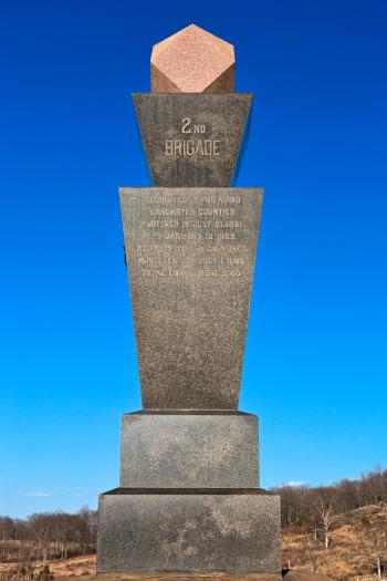 Gettysburg Monument - HDR
