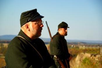 Gettysburg sharp shooters