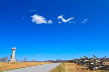 Gettysburg Sky Route - HDR