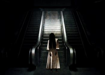 Ghost by the Escalator