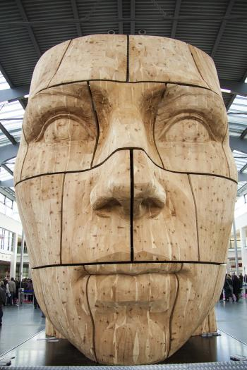 Giant Carved Head
