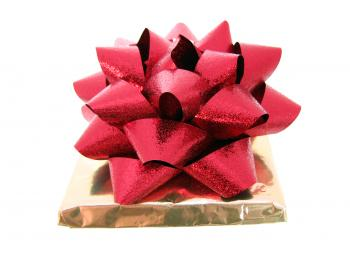 Gift and bow