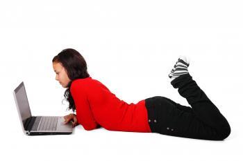 Girl Browsing