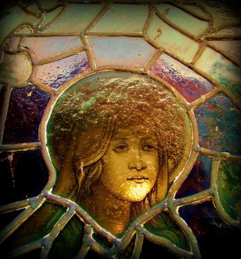 Girl In The Stained Glass Window