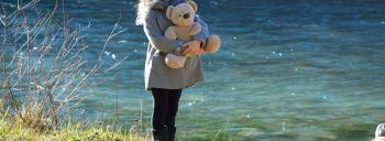 Girl with the Bear