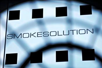 Glass design for smokesolution