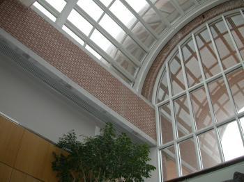 Glass roof struckture