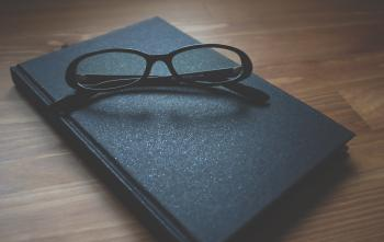 Glasses on the Diary