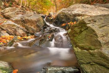 Glen Artney Boulder Stream - HDR